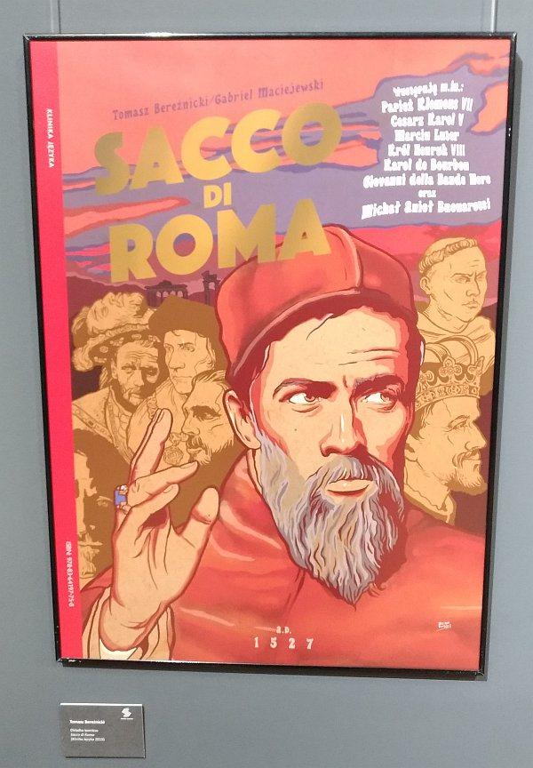 Plansza Sacco di Roma - Tomasz Bereźnicki